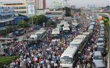 """TP.HCM thử nghiệm làn đường ưu tiên cho xe buýt: Loay hoay bài toán """"tách - nhập"""", chống ùn tắc giao thông vẫn là phần ngọn?"""