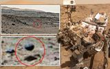 Tàu vũ trụ của NASA chụp được ảnh quả cầu ngoài hành tinh màu đen trôi nổi trên sao Hoả?