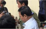"""Ông Nguyễn Hữu Linh đến tòa từ sớm và đi """"đường hầm"""" vào phòng xử kín"""