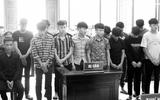 Đi trả thù sau khi nhậu, 15 thanh niên vướng vòng lao lý