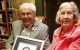 Tin thế giới - Cặp vợ chồng già nhất thế giới hạnh phúc kỷ niệm 80 năm ngày cưới