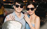 Giải trí - Hậu đám cưới hoành tráng, vợ chồng son Đông Nhi - Ông Cao Thắng rạng rỡ khe nhẫn cưới tại sân bay