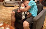Thể thao - Quế Ngọc Hải gặp vợ con trước trận đối đầu với tuyển Thái Lan