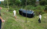 Tin trong nước - Xe con va chạm kinh hoàng với xe bồn, 2 nhân viên ngân hàng may mắn thoát chết