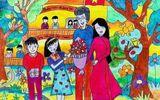 Đời sống - Tranh vẽ ngày 20/11 ấn tượng mà học sinh dành tặng thầy cô giáo