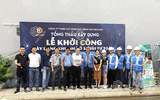 Xã hội - Tổng thầu xây dựng MD LAND& nhà thầu xây dựng Nam Tín tổ chức thành công buổi lễ khởi công khu nhà ở 35 Bùi Tư Toàn quận Bình Tân