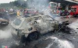An ninh - Hình sự - Vụ xe Mercedes gây tai nạn chết người ở Hà Nội: Lấy dấu vân tay xác minh danh tính nạn nhân