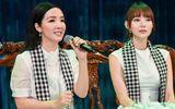 """Hoa hậu Giáng My đẹp """"không tuổi"""" đọ sắc với Minh Hằng"""
