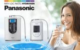 Giải mã sức hút của máy lọc ion kiềm Panasonic trên thị trường