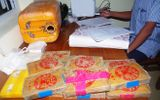 Hàng chục bánh heroin ghi chữ Trung Quốc dạt vào bờ biển Quảng Nam