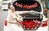 Ngắm vẻ đẹp hoàn mỹ của cô dâu Hoàng Oanh và chồng Tây trong ngày cưới