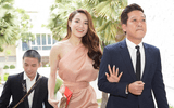 """Trường Giang chiếm sóng trong đám cưới Hoàng Oanh nhờ hành động """"cưng xỉu"""" với Nhã Phương"""
