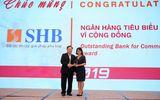 SHB được vinh danh là ngân hàng tiêu biểu vì cộng đồng và đồng hành cùng DNVVN