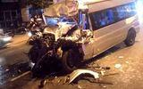 Tin trong nước - Va chạm kinh hoàng với xe đầu kéo, tài xế ô tô 16 chỗ tử vong thương tâm