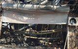 Tin trong nước - Khung cảnh tan hoang tại hiện trường vụ cháy nhà hàng 4 người chết ở Vĩnh Phúc