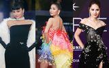 Tin tức giải trí - Dàn sao Việt xúng xính váy áo trên thảm đỏ chung kết Hoa hậu Hoàn vũ Việt Nam 2019
