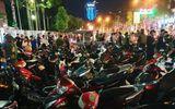 """Tin trong nước - Xuống đường """"đi bão"""" sau trận U22 Việt Nam đại thắng, hàng trăm phương tiện bị tạm giữ"""