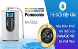 Máy lọc nước Panasonic khuyến mãi lớn cuối năm tại Thế Giới Điện Giải