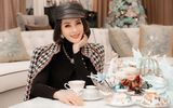 """MC """"không tuổi"""" Thanh Mai diện đồ hiệu toàn tập trong bộ ảnh mừng Giáng sinh"""