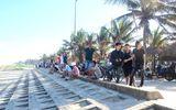 Du khách nước ngoài bị sóng cuốn mất tích ở biển Quảng Nam