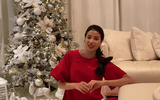 Phạm Hương lần đầu hé lộ toàn bộ căn biệt thự lộng lẫy tại Mỹ mùa Giáng sinh