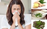 Bài thuốc chữa cảm lạnh cực kỳ hữu hiệu vào mùa đông