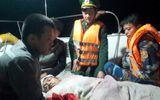 Nghệ An: Thuyền viên gặp nạn được đưa vào đất liền trong đêm