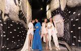 """Dàn mỹ nhân Hoa hậu hoàn vũ Việt Nam """"đốt mắt"""" người nhìn tại triển lãm của Công Trí"""