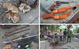 Nghệ An: Nhóm trộm chó hung hãn mang theo hung khí, chém công an bị thương