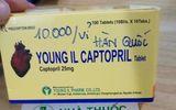 Cục Quản lý Dược yêu cầu thu hồi thuốc tim mạch Young II Captopril Tablet