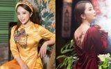 Quỳnh Nga thể hiện 2 phong cách trái ngược khi diện áo dài Tết