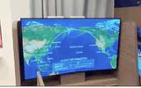 TV LG biến hình từ thẳng thành cong chỉ trong một nốt nhạc