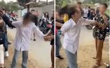 """Nhóm phụ huynh vây đánh, chửi xối xả một nữ sinh giữa đường khiến cộng đồng mạng """"dậy sóng"""""""