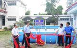 Trao tặng 5 bể bơi di động miễn phí của nhà sản xuất Hoàng Hải
