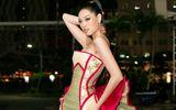 Hoa hậu Khánh Vân diện váy siêu ấn tượng mang thông điệp đặc biệt lên thảm đỏ
