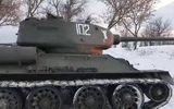 Ôtô - Xe máy - Video: Xe tăng T-34 huyền thoại từ Thế chiến thứ II vẫn gầm rú mãnh liệt