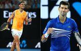 """Thể thao - Nadal cố tình giơ """"ngón tay thối"""" chọc tức Djokovic"""