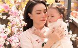 Tin tức giải trí - Trà Ngọc Hằng cùng con gái Sophia diện áo dài rực rỡ trong bộ ảnh xuân