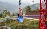 Đời sống - Trung Quốc: Bắt lợn sống nhảy từ độ cao gần 70m để mua vui gây phẫn nộ