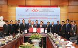 Thị trường - Lễ ký hợp đồng hợp tác sản xuất sợi DTY giữa VNPOLY và SSFC (Đài Loan)