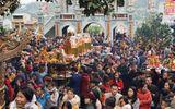 """Đời sống - """"Biển người"""" chen chúc đổ về đền thờ Bà Chúa Kho những ngày đầu năm mới"""