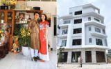 Hòa Minzy xây nhà 5 tầng, 2 mặt tiền tặng bố mẹ