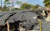 Cà Mau: Đường 700 tỷ thông xe chưa được 1 năm đã sụt lún