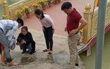 Thầy giáo ở Nghệ An lao xuống hồ cứu cháu bé gặp nạn khi đi chơi xuân