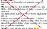 Đăng tải thông tin sai sự thật về virus corona, nam thanh niên bị phạt 10 triệu đồng