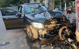 Hé lộ lời khai của tài xế Mercedes tông lái xe GrabBike chở nữ tiếp viên hàng không