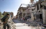 """Đáp trả bằng """"hỏa thần"""" TOS-1, quân đội Syria thiêu trụi nhiều xe tăng của Thổ Nhĩ Kỳ"""