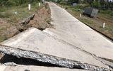 Tin trong nước - Sụt lún 100m đường phòng hộ đê biển Tây ở Cà Mau
