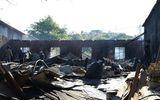 Tin trong nước - Kon Tum: Xưởng gỗ bất ngờ bốc cháy lúc rạng sáng, thiệt hại lớn về tài sản