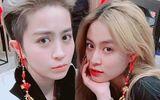 """Chuyện làng sao - Fan lại """"soi"""" được khoảnh khắc thân thiết siêu đáng yêu của Hoàng Thủy Linh và Gil Lê"""